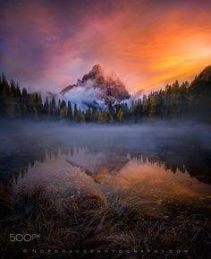 Sunrise, Lago Antorno - )