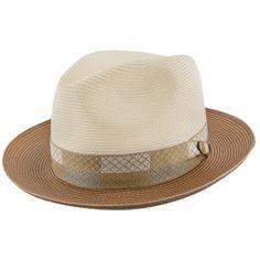 7e15b562ac39a Andover - Stetson Milan Straw Fedora Hat - TSANDV