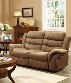 Huxley Brown Polyester Fabric Double Reclining Loveseat & Catnapper Jackpot Power Reclining Sofa at Big Sandy Superstore ... islam-shia.org