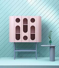 Highboard by Matteo Zorzenoni Retro Furniture, French Furniture, Design Furniture, Cabinet Furniture, Cheap Furniture, Sofa Furniture, Unique Furniture, Bathroom Furniture, Kids Furniture