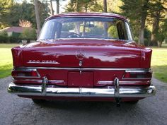 1968 Mercedes Benz 200D Fintail Heckflosse Red