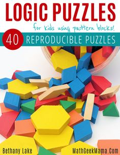 Are your kids bored when they're on a school break or spending too much time in front of the television? Why not provide them with fun and engaging puzzles that will keep them busy and give their brains a unique challenge! This huge resource provides kids with a fun, hands on way to increase their logical reasoning skills! This ebook includes 40 reproducible puzzles so you can print as many as you need for your home or classroom. They are similar to sudoku puzzles, except using shapes…