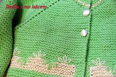 emilia y sus labores de punto: chaqueta bebé tres meses