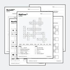 Multiplication table plus blank multiplication table
