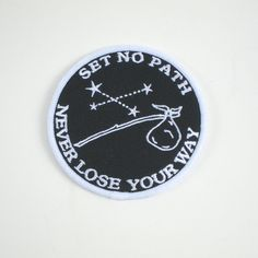 Set no path - black/white patch
