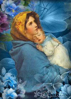 Santa María, Madre de Dios y Madre nuestra: María y la fe de una mamá