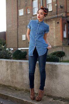 Сочетаются ли джинсы с рубашкой