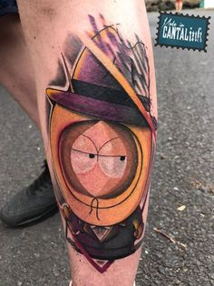 Calvin Moktar claimed '2nd Best of Saturday' at Cantal Ink - Festival du Tatouage de Chaudes-Aigues with his South Park piece that he did using #killerinktattoo supplies! #calvinmoktar #kaliltattoofamily #cantalink #killerink #bestartists #bestsupplies #besttattoos #tattoo #tattoos #bodyart #ink #inked #tattooed #tattooartist #tattooart #worldfamousink #southpark #southparktattoo #tribaltattoo