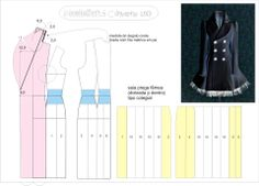 Trench coat pattern. This is an awesome Trench coat! I would love to make this someday. Looks like it has a nice full skirt too.