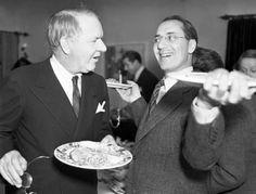 Groucho Marx and W.C. Fields