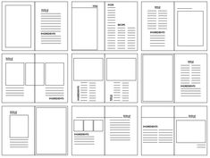 After finding Kinfolk magazine extremely inspirational, I decided to unpick their grid system to get a feel for layout ideas. Portfolio Design Layouts, Page Layout Design, Graphisches Design, Buch Design, Magazine Layout Design, Graphic Design Layouts, Book Layout, Design Ideas, Editorial Layout