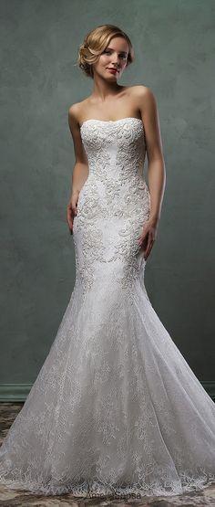 amelia sposa 2016 mermaid lace wedding dress camelia