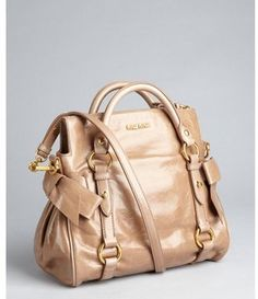 Miu cammeo leather slouchy crossbody bag Miu Miu Top Handle Bags, Khakis, Crossbody  Bags d24794df81