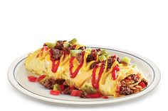 IHOP Cheese Burger Omelette