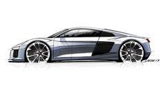 Automotive Design | Audi R8 2015
