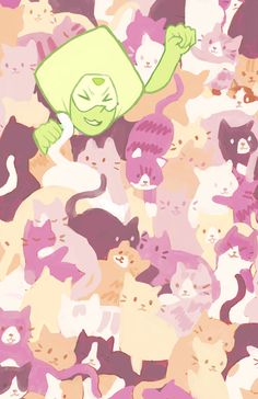 Why is this photo full of cats<<<<<<because they're important