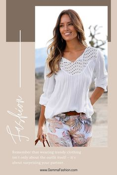 😍 OVERSIZED TIE FRONT BLOUSE Take hippie chic from the weekend to the workplace with this oversized style that doesn't compromise on its feminine appeal! Tuck into the front of some slacks for sophisticated contrast, or take advantage of the tunic length by pairing with your favorite leggings for a fun, carefree vibe. #Fashion #casualstyle #outfit #womenswear #womensclothing #clothing #clothes #shoppingonline #chic #apparel #shopping #top #fallfashion #streetstyle