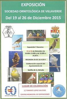 Gente de Villaverde: Exposición Sociedad Ormitológica de Villaverde