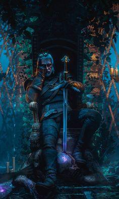 Geralt of rivia The witcher video game throne dark 480800 wallpaper The Witcher 3, The Witcher Wild Hunt, Witcher 3 Art, The Witcher Books, Hisoka, Killua, Robert E Howard, Witcher Wallpaper, Character Design