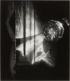 Spirit and Doorknob, 1975 Gelatin silver print  Princeton University Art Museum Bequest of Ruth Bernhard