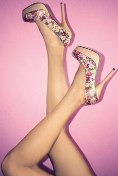 I need these floral pumps