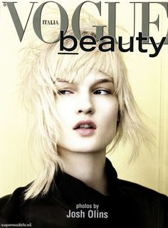 asymmetric shag--Kirsi Pyrhonen in Vogue Beauty Italia