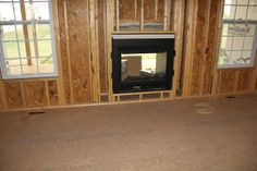 double fireplace | Our New Home: The Fireplace