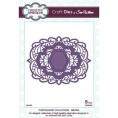 Creative Expressions Craft Dies by Sue Wilson - Portuguese Collection - Sintra