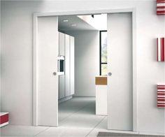 Pocket doors - glaze or not?