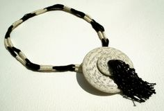 text, texture, textile necklace   Flickr - Photo Sharing!
