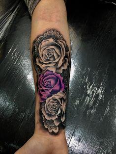 Tatuagem realizada em black and grey e colors electricink #xanditattoo