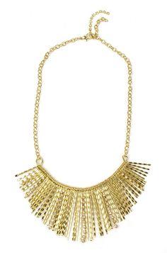 Golden shower Necklaces