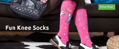 Fun Knee High Socks for women