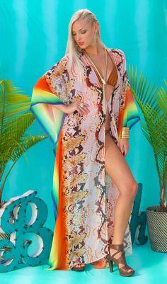 Lotta Stensson We Jammin Maxi Kaftan! Are you ready for a beach day?!:) #lottastensson #lottanyc #fashion #beachwear #resortwear #lottalove