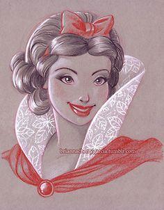 ^pin:atouchstone15^ Snow White by Brianna Cherry Garcia
