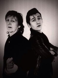 Paul McCartney & Alex Turner.
