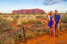 Sunrise at Uluru in the Central Australia