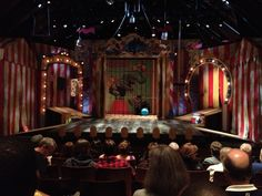The Comedy of Errors. Scenic Designer: Tom Buderwitz. Line is the dominant design element. The long, yet thick lines suggest that the scene is enclosed or trapped within itself.