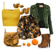 Ginny by glirendree on Polyvore featuring moda, WearAll, MSGM, Fratelli Karida, Chloé and Topshop