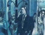 Harry Weisburd Cell Phones Watercolor