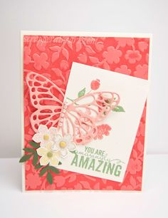Hello Friends, Today's card is to entice us and get us all excited for Spring! However, I think Spring here in Florida is coming more quickly then in the rest of the country and I am thankful fo...