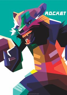 #56 GUARDIANS OF THE GALAXY CHARACTER WPAP on Behance