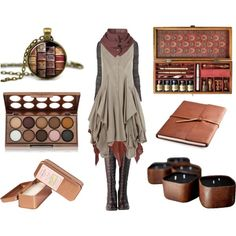 The Scribe's Daughter by maggiehemlock on Polyvore featuring AllSaints, Rick Owens Lilies, DimeCity, Topman, NYX, Authentic Models and Paddywax