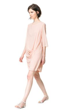 DRAPED DRESS - Dresses - Woman - ZARA United States