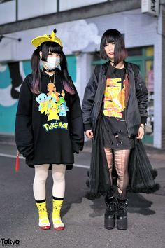omg I need their clothes, so jealous T-T | Thichan (left) & Murakami (right) | 9 January, Tokyo 東京