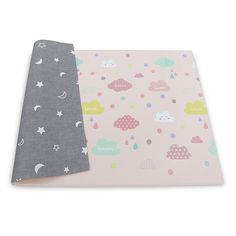 The BABYCARE Reversible Happy Cloud Playmat provides a soft, cushioned surface on the floor for your little one. Reversible, easy to clean design makes it ideal for playtime, eating snacks or diaper changes. Portable and folds compactly. Baby Gym, Get Baby, Baby Play, Baby Learning Toys, Baby Bundles, Little Elephant