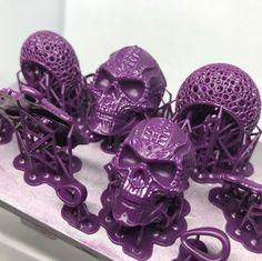 Skulls printed by clearmindcasting #prusasl1