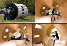 'Roll It' is an experiment in low-cost housing.