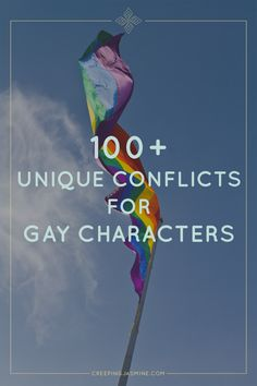"Having trouble coming up with conflicts for gay characters in your story? There is a depressing shortage of fiction about gay characters that is: Well written Well edited Not homophobic Not about coming out To quote Tori Curtis, not ""about getting hate crimed"" Many of these stories are actively harmful—not just to gay people, but to everyone who reads them. The rest just aren't very original. Yes, it's fine to read about a gay kid coming out of the closet. But after the 100th coming-out…"