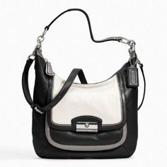 Handbags - NEW - Coach Factory Official Site Kristin Spectator Leather Hobo Designer Handbags On Sale, Shoulder Purse, Timeless Fashion, Purses And Handbags, Luxury Branding, Coach Bags, Leather Bag, Diaper Bag, Best Deals